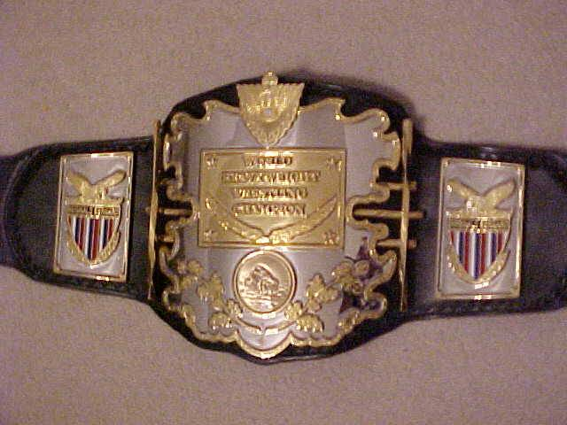 if you could get any replica title belt which one would